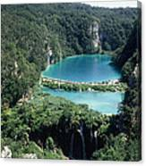 National Park Plitvice Canvas Print