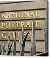 National Portrait Gallery Canvas Print