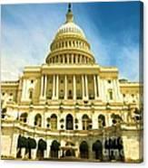 Nations Capital  Canvas Print