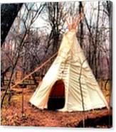Native American Abode Canvas Print