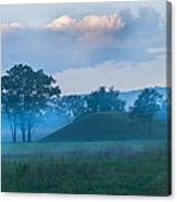 Native American Burial Ground Canvas Print
