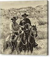 Native American Cowboys Canvas Print