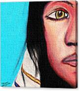 Native American Girl 2 Canvas Print