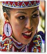 Native American Princess Canvas Print