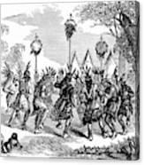 Native American Scalp Dance Canvas Print
