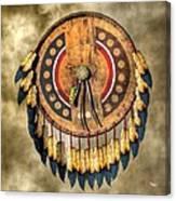 Native American Shield Canvas Print