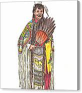 Native American Woman Canvas Print