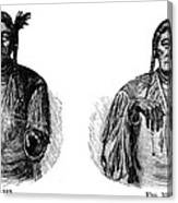 Native Americans: Sign Language Canvas Print