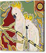 Native Aussies Canvas Print