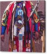Native Hoop Dancer Canvas Print