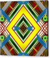 Native Weave Life Canvas Print