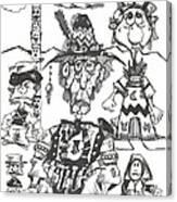 Natives Canvas Print