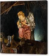 Nativity Angel  Canvas Print