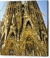 Nativity Facade - Sagrada Familia Canvas Print