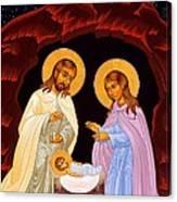 Nativity Night Canvas Print