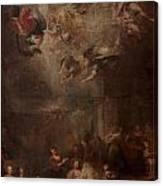 Nativity Of Mary Canvas Print