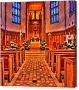 Nativity Of Our Lord Church Canvas Print