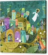 Nativity Three Canvas Print