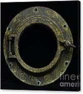 Natuical - Brass Porthole Canvas Print
