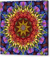 Natural Attributes 17 Square Canvas Print