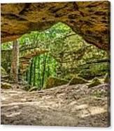 Natural Bridge Cave Canvas Print
