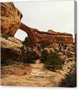 Natural Bridge Southern Utah Canvas Print