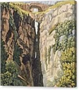 Natural Bridge, Valle Dicononzo Canvas Print