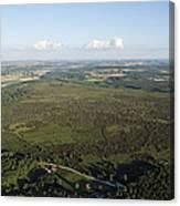 Natural Reserve Of Pinail, Vouneuil Sur Canvas Print