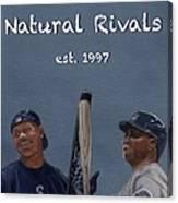 Natural Rivals Canvas Print