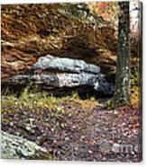 Natural Rock Bridge Canvas Print