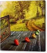 Nature Exhibition Canvas Print