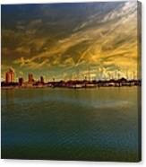 Natures Dramatic Skies  Canvas Print
