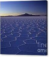 Natures Geometry Salar De Uyuni Canvas Print