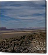 Natures Painted Desert Canvas Print
