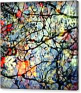 Natures Stained Glass Canvas Print