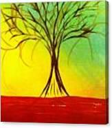Natures Vivid Colors Canvas Print