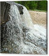 Natures Water Fountain Canvas Print