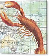 Nautical Journey-i Canvas Print