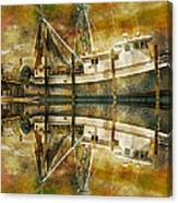 Nautical Timepiece Canvas Print