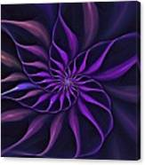 Nautilus Fractalus Moongarden Canvas Print