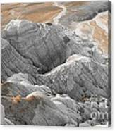 Navaho Badlands Canvas Print