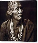 Navajo Medicine Man, C1904 Canvas Print