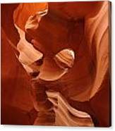 Navajo Red Canvas Print