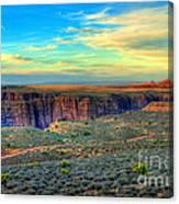 Navajo Sunset Canvas Print