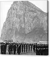 Naval Review At Gibraltar Canvas Print
