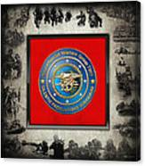 Naval Special Warfare Group Two - N S W G-2 - Over Navy S E A Ls Collage Canvas Print