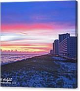 Navarre Beach Fl 2013 10 30 I Canvas Print