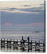 Navarre Beach Sunset Pier 11 Canvas Print