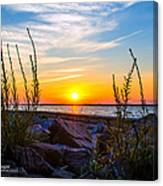 Navarre Fl Sunset 2014 07 29 A Canvas Print
