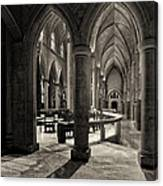 Nave Of St. Joseph Cathedral Canvas Print